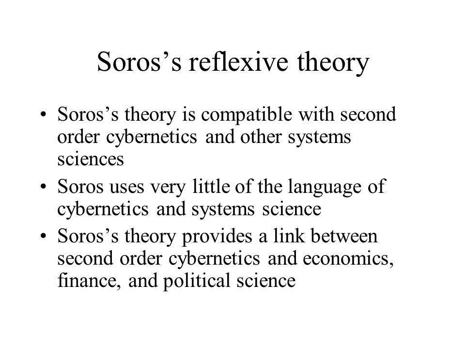 Soros's reflexive theory