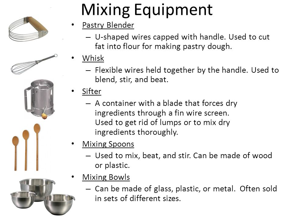 Mixing Equipment Pastry Blender