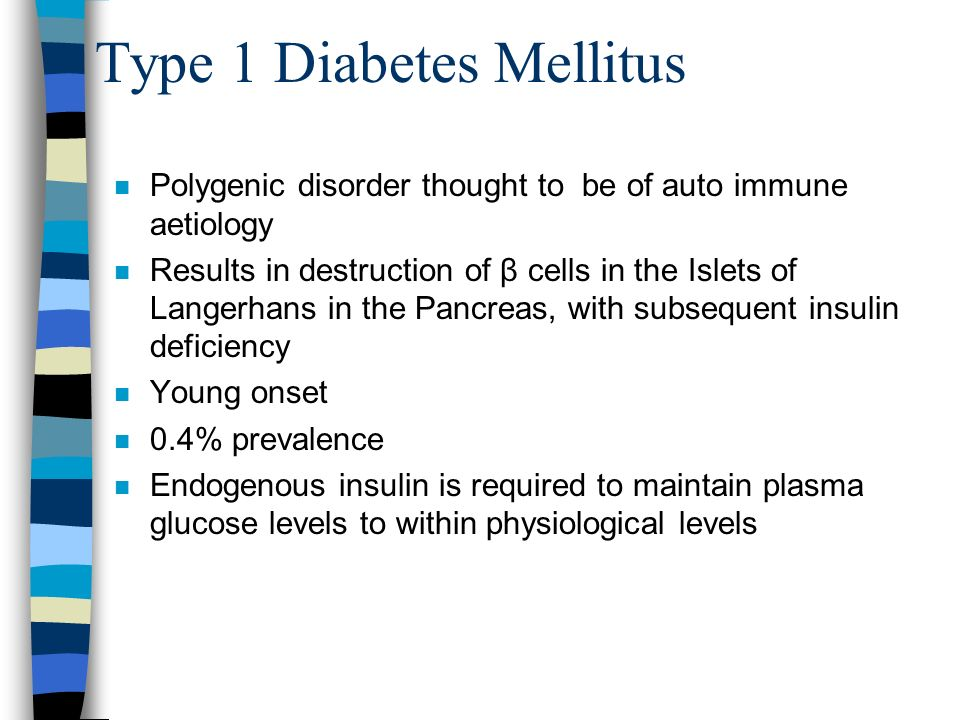 Type 1 Diabetes Mellitus
