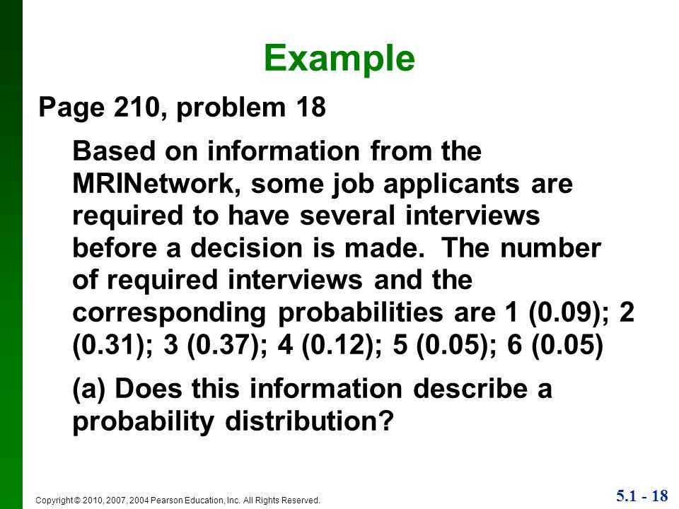 Example Page 210, problem 18.