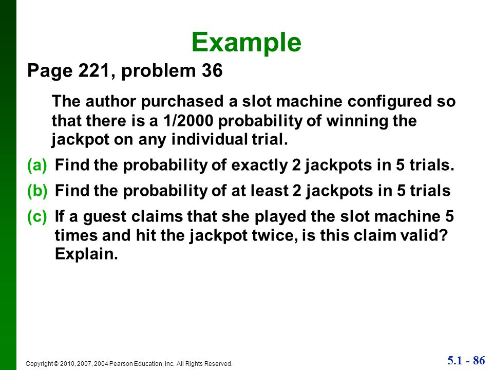 Example Page 221, problem 36.