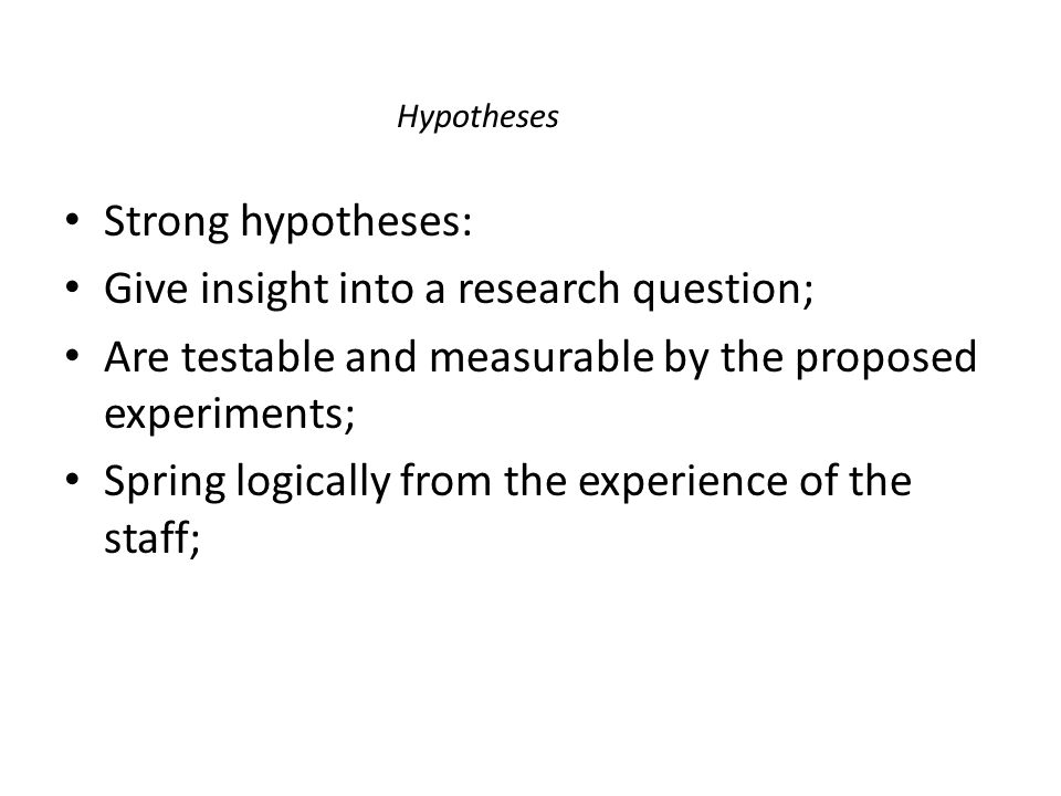 Give insight into a research question;