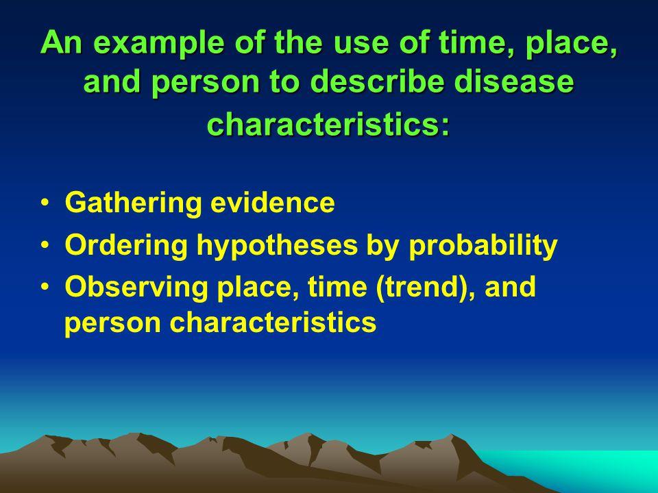 Epidemiologic basis of public health