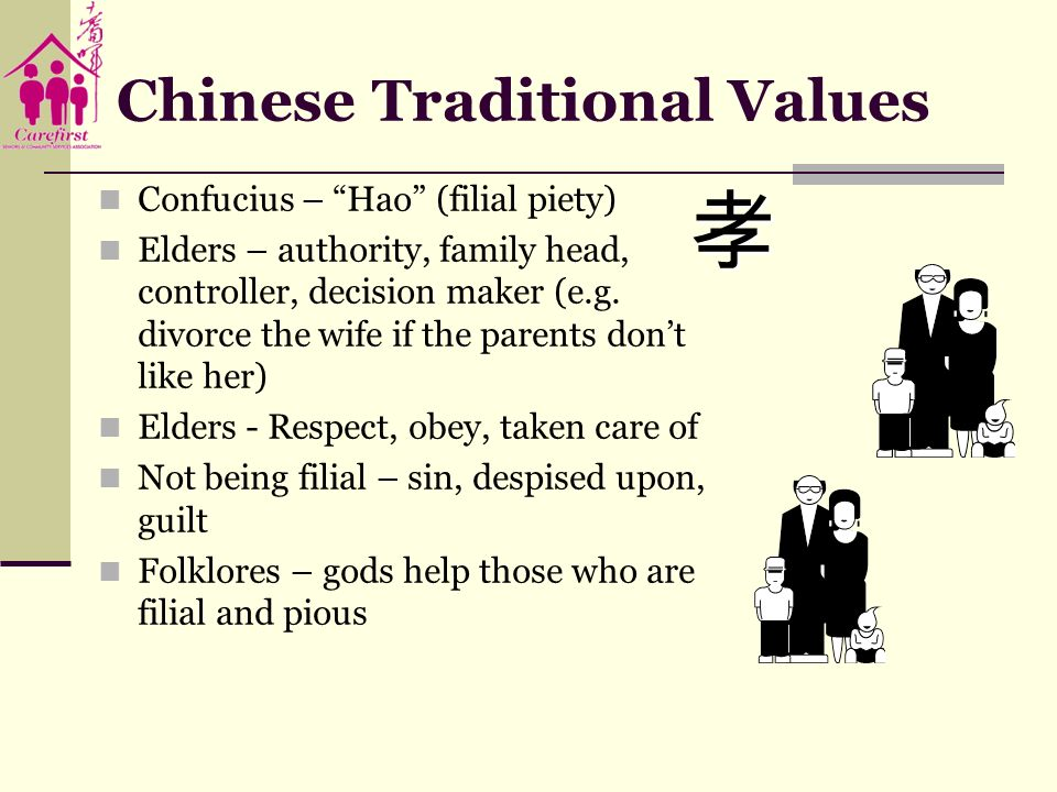 Chinese Traditional Values