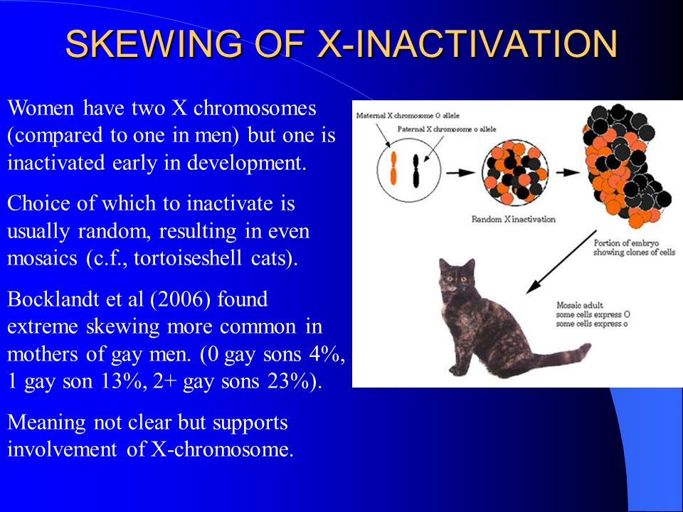 SKEWING OF X-INACTIVATION