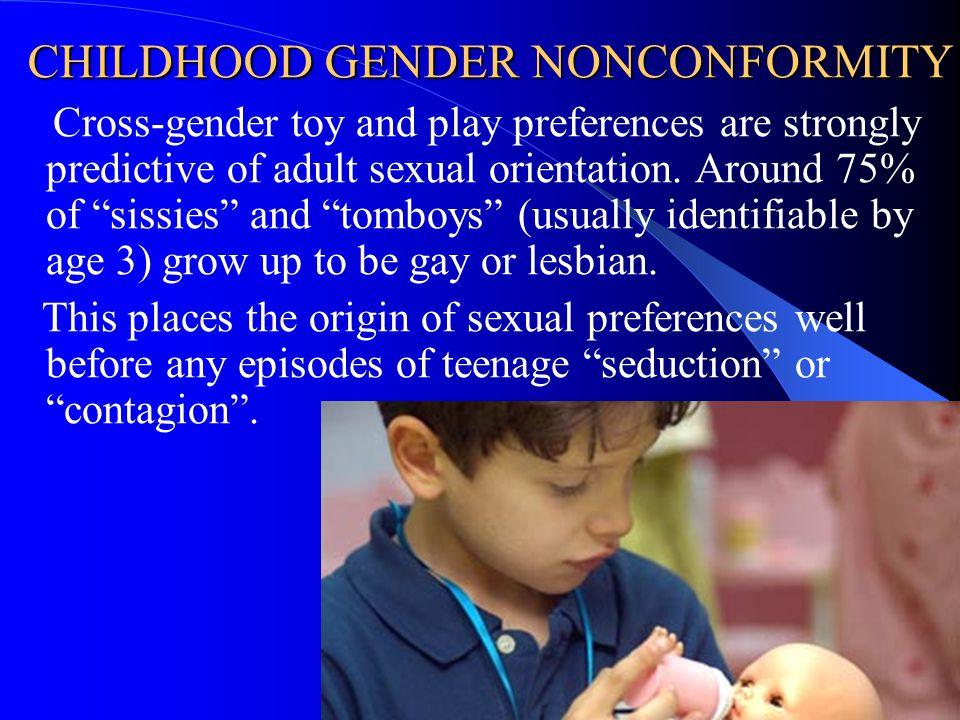 CHILDHOOD GENDER NONCONFORMITY