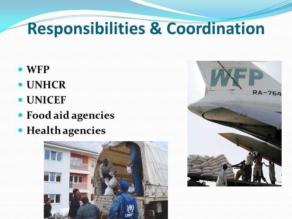Responsibilities & Coordination