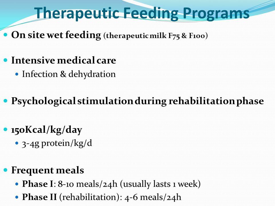 Therapeutic Feeding Programs