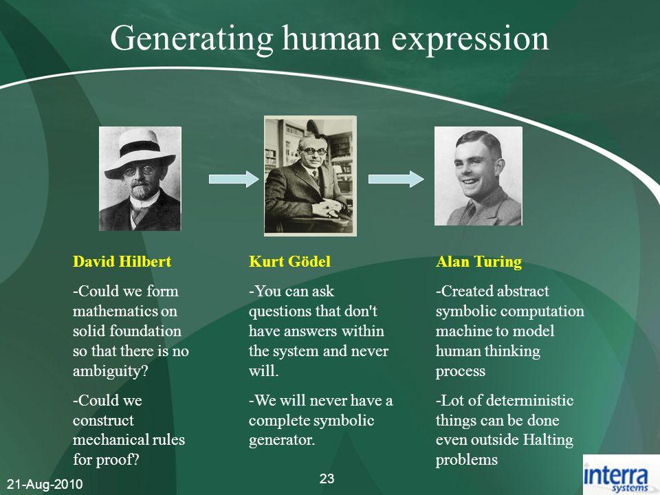 Generating human expression