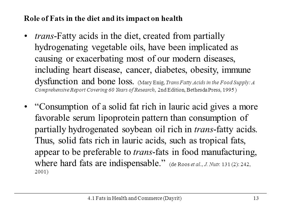 4.1 Fats in Health and Commerce (Dayrit)