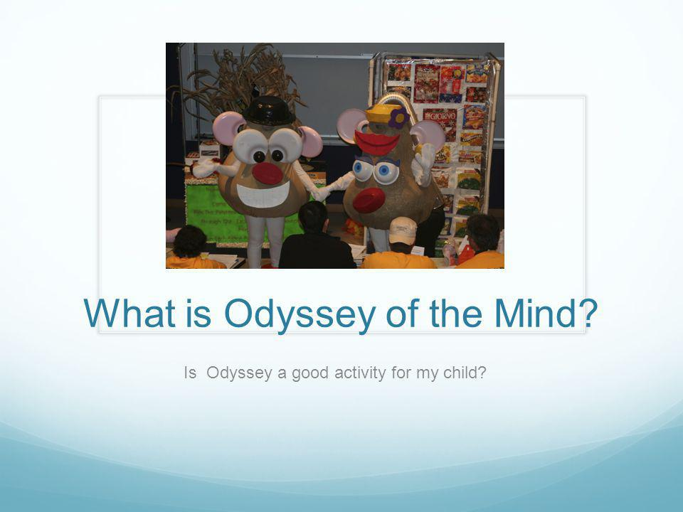 What is Odyssey of the Mind