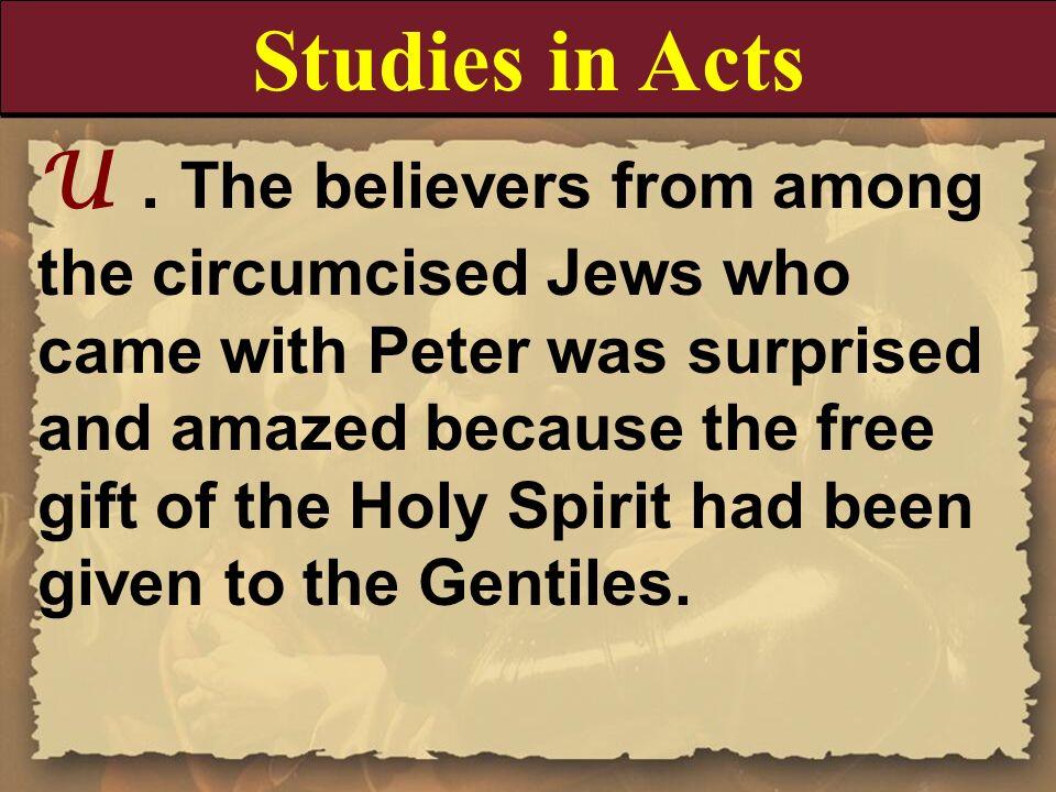 Studies in Acts
