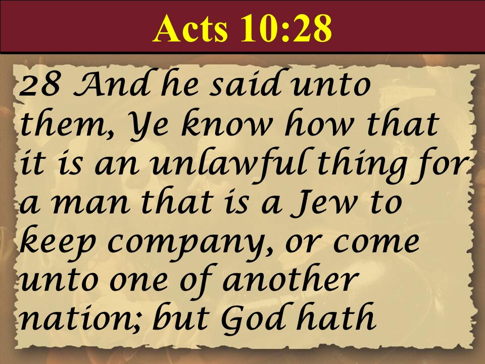 Acts 10:28