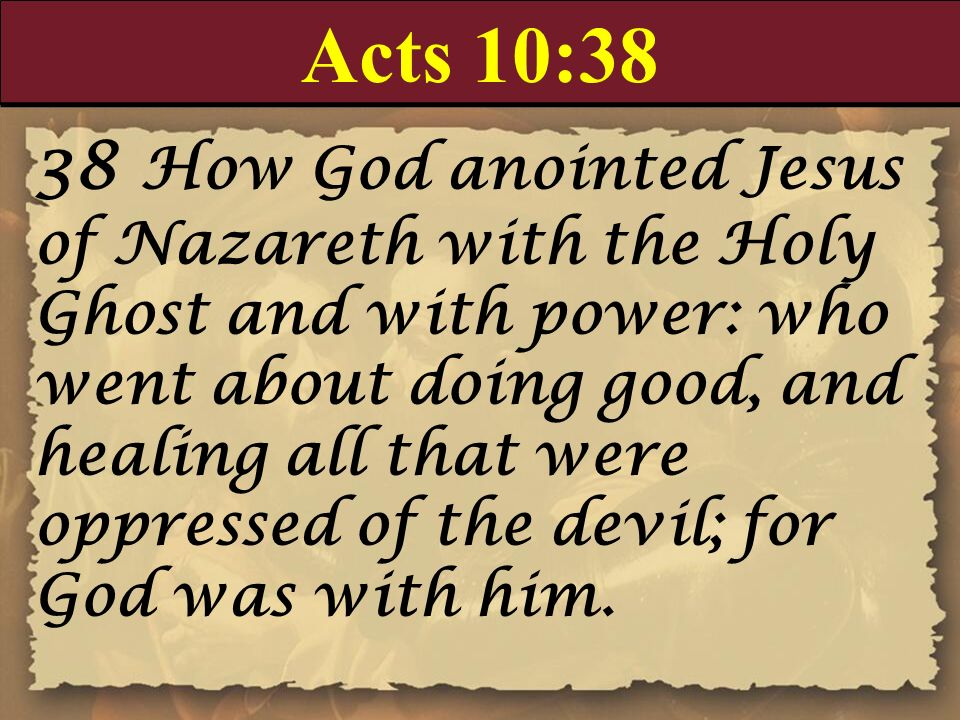 Acts 10:38