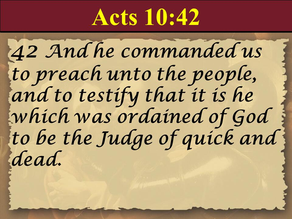 Acts 10:42