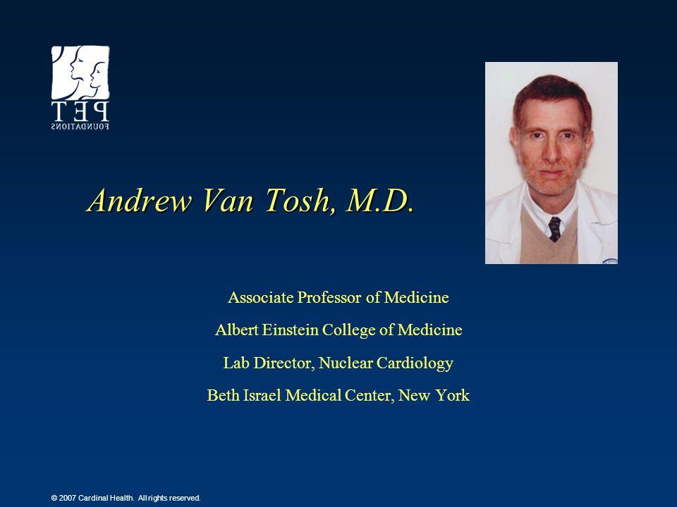 Andrew Van Tosh, M.D. Associate Professor of Medicine