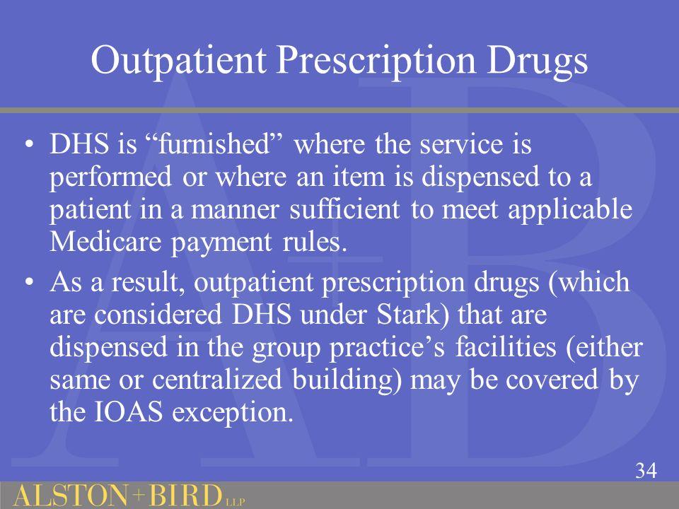 Outpatient Prescription Drugs
