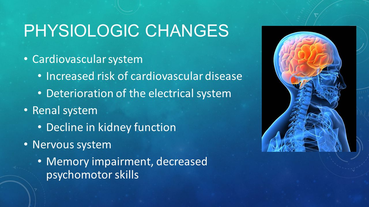 Physiologic Changes Cardiovascular system