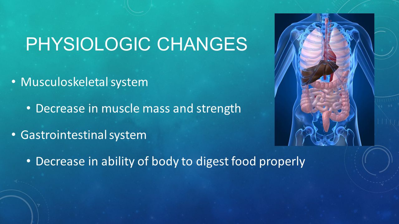 Physiologic Changes Musculoskeletal system