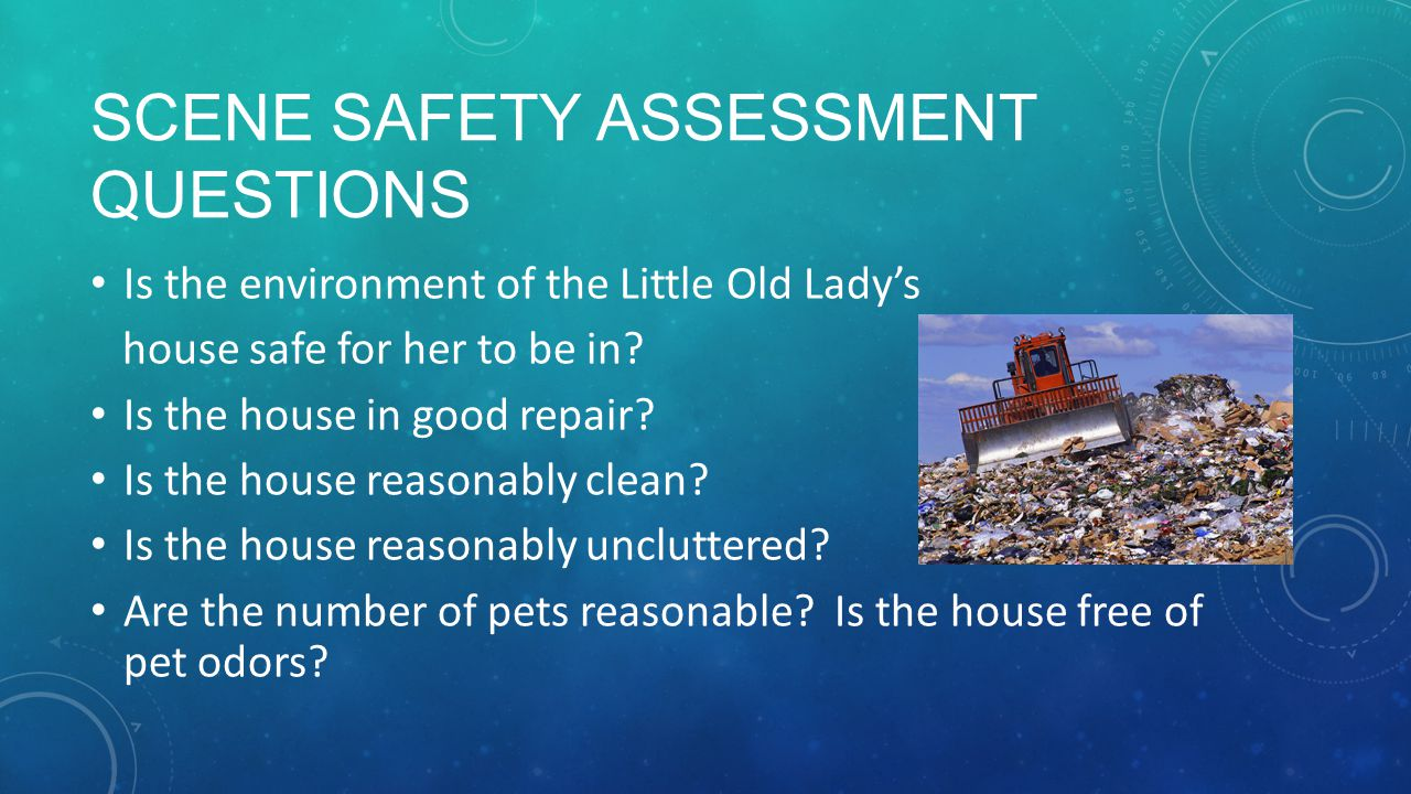 Scene Safety Assessment Questions