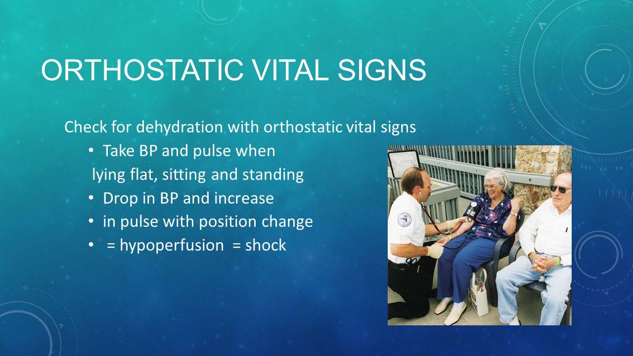 Orthostatic Vital Signs