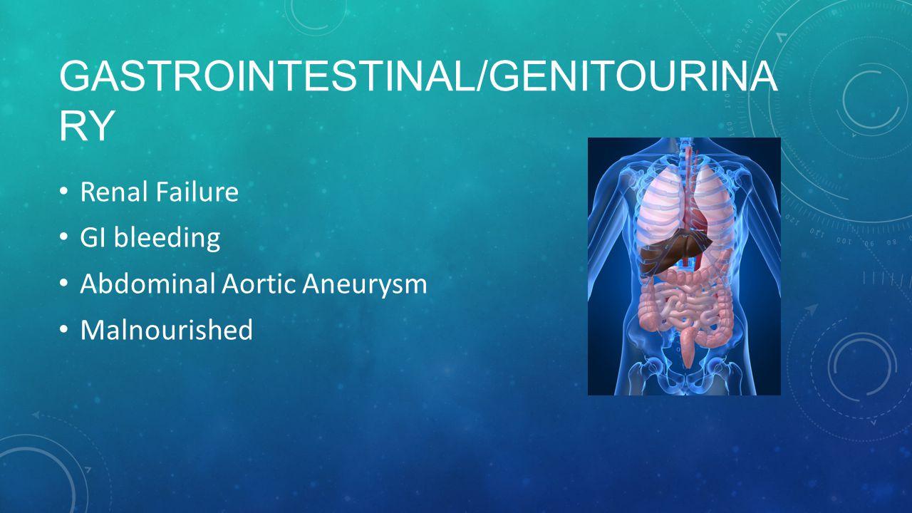 Gastrointestinal/Genitourinary