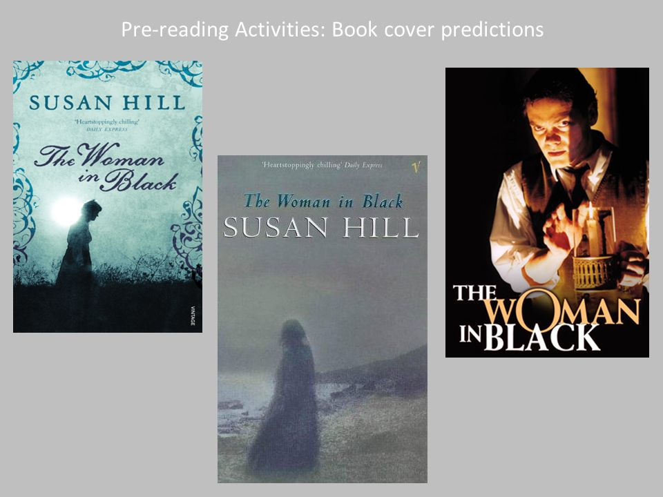 Pre-reading Activities: Book cover predictions