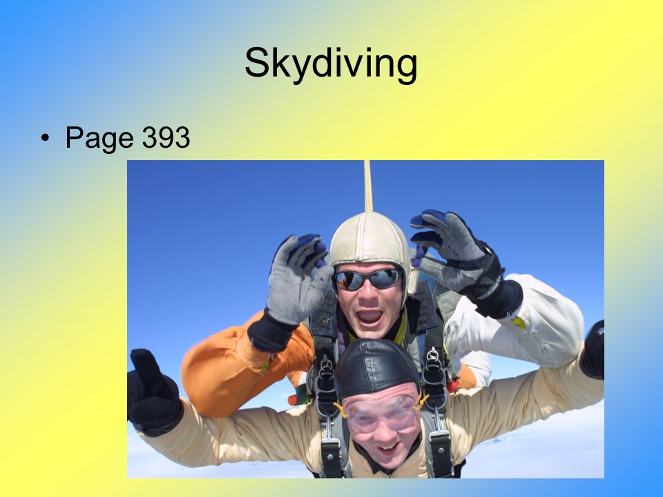 Skydiving Page 393