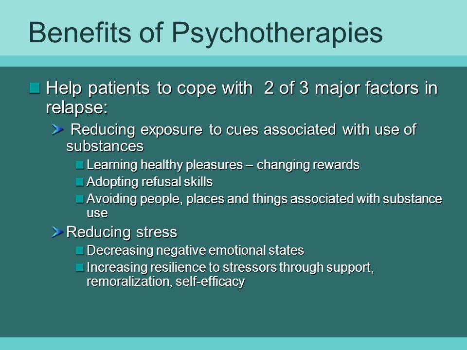 Benefits of Psychotherapies