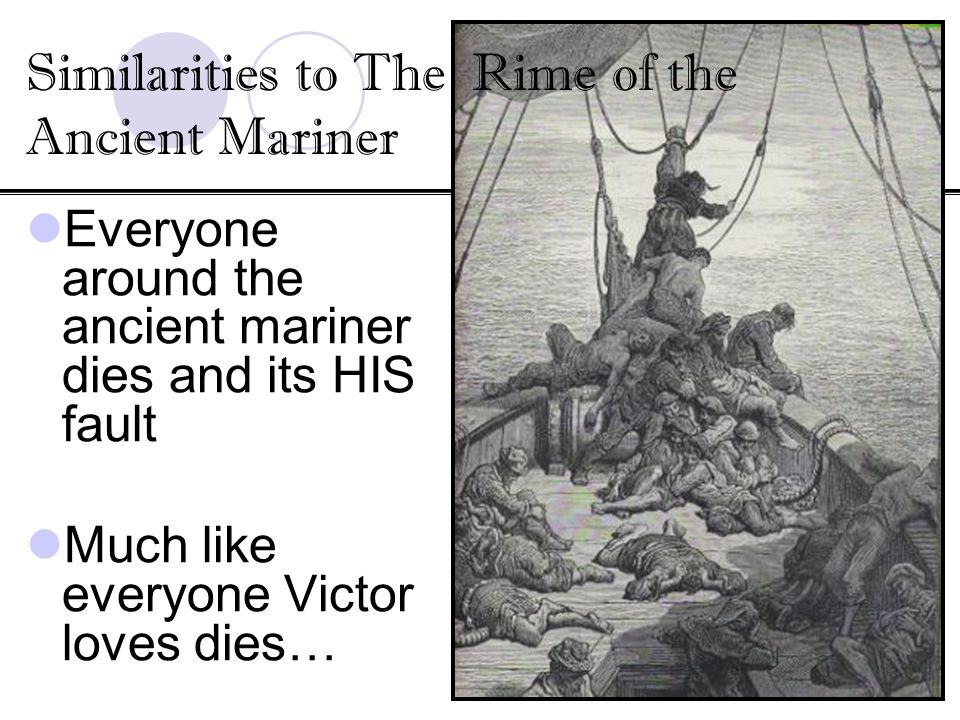 Similarities to The Rime of the Ancient Mariner