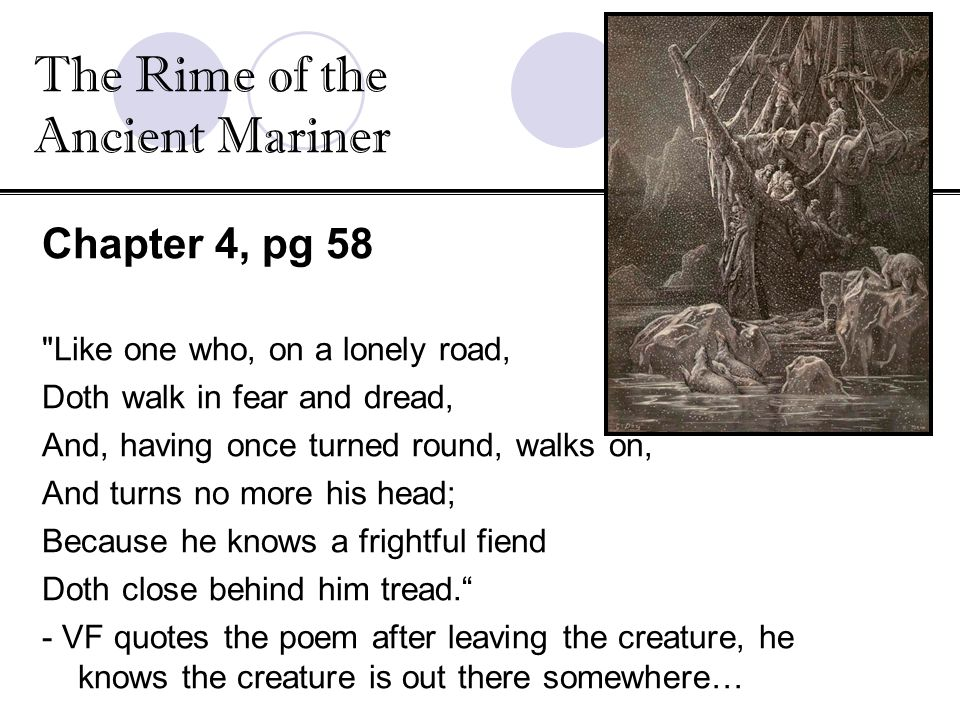 """The Rime of the Ancient Mariner,"" Parts I-IV"