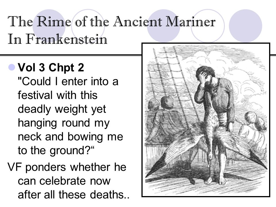 The Rime of the Ancient Mariner In Frankenstein