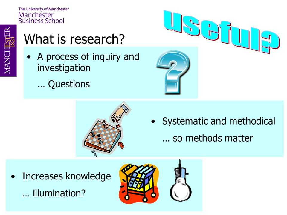 useful What is research A process of inquiry and investigation