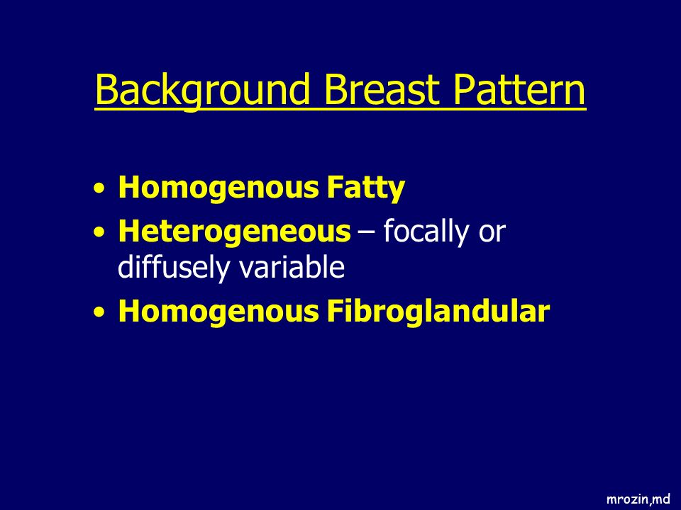 Background Breast Pattern