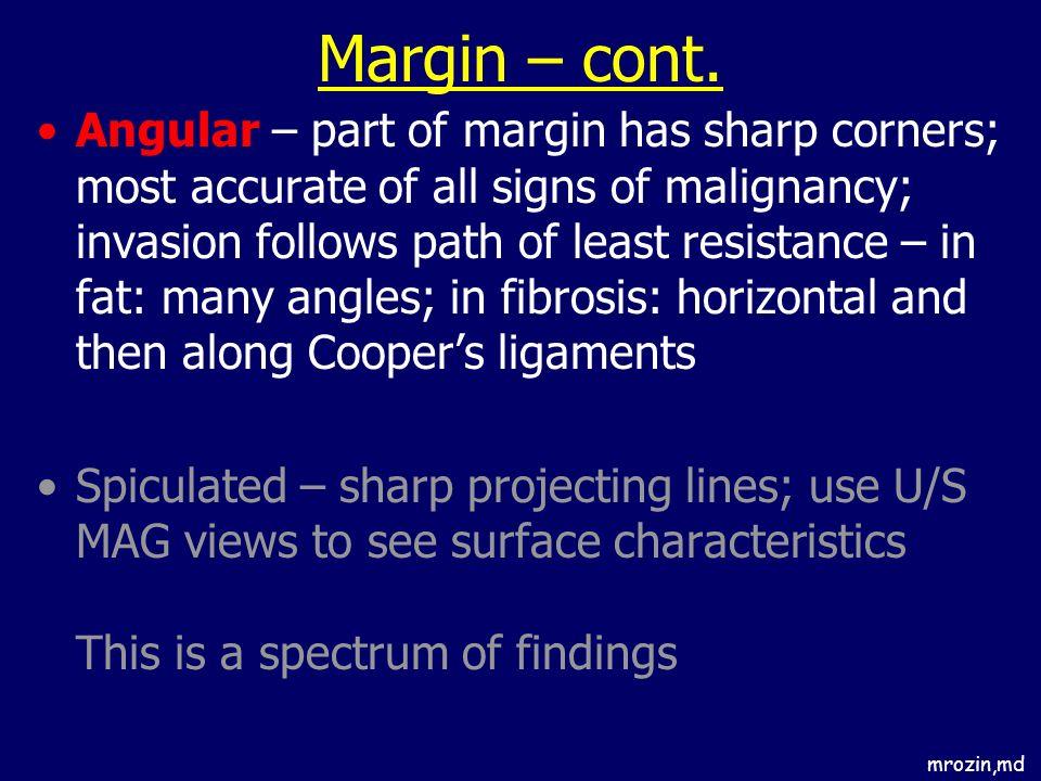 Margin – cont.