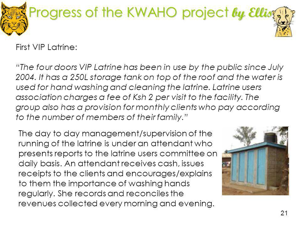 Progress of the KWAHO project by Ellis
