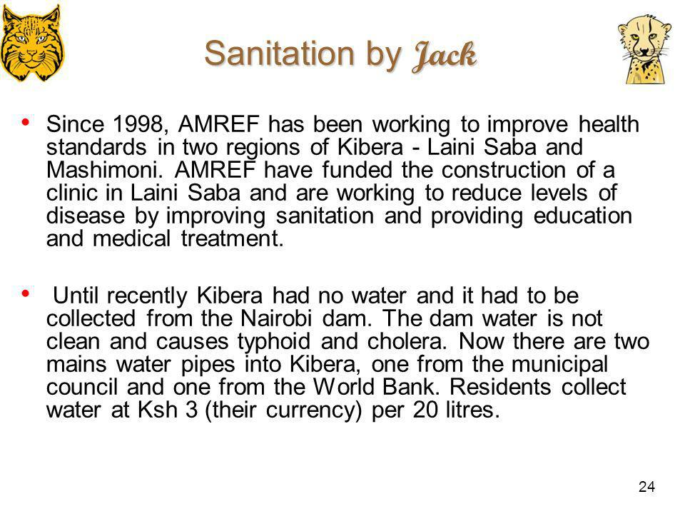 Sanitation by Jack