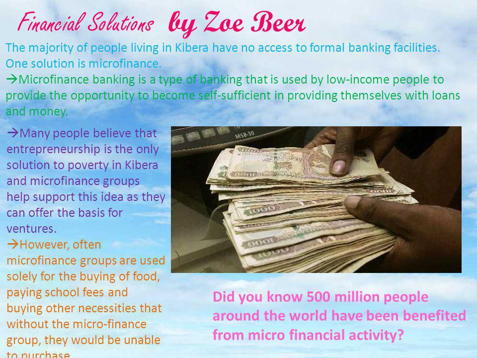 Financial Solutions by Zoe Beer
