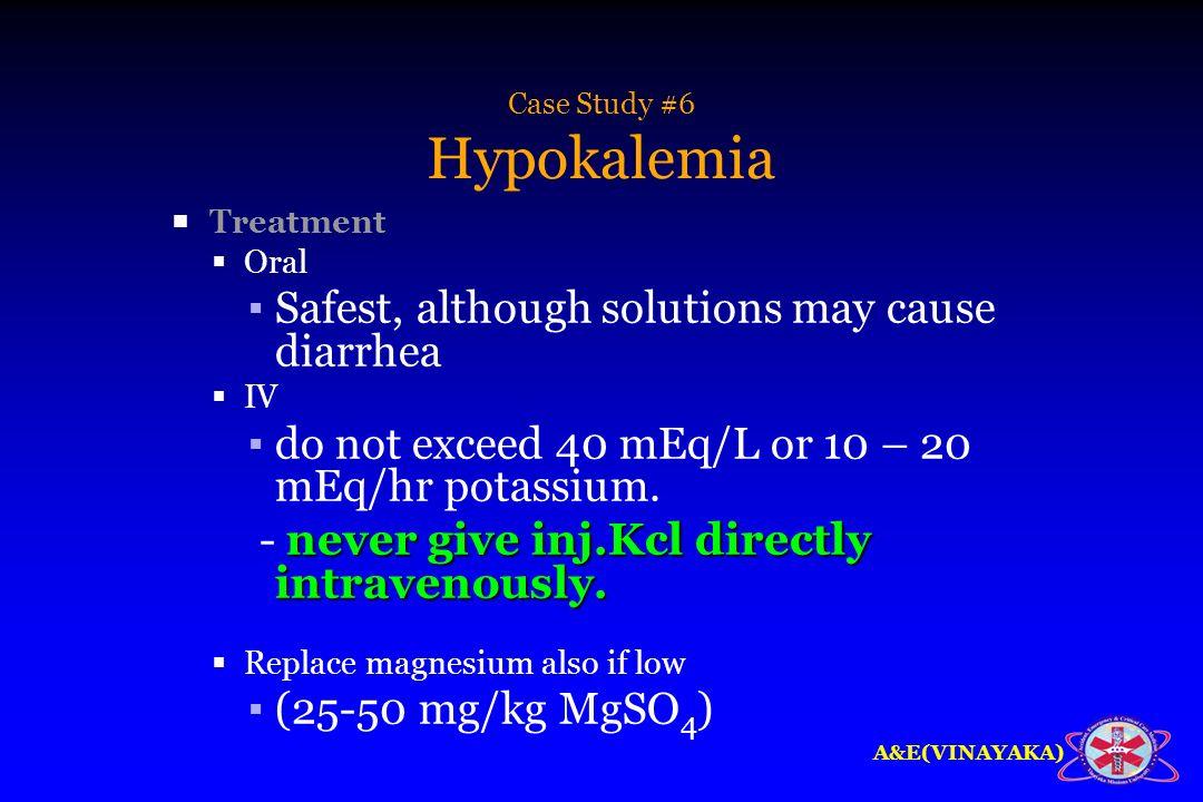 Hypokalemia Case Study - Physiopedia