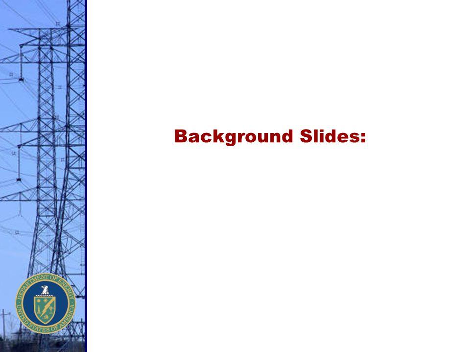 Background Slides: