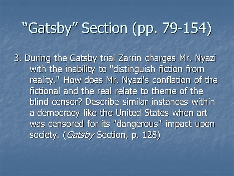 Gatsby Section (pp. 79-154)