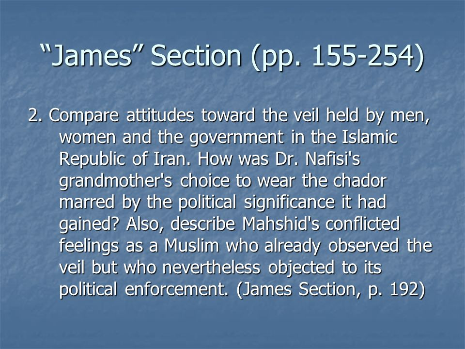 James Section (pp. 155-254)