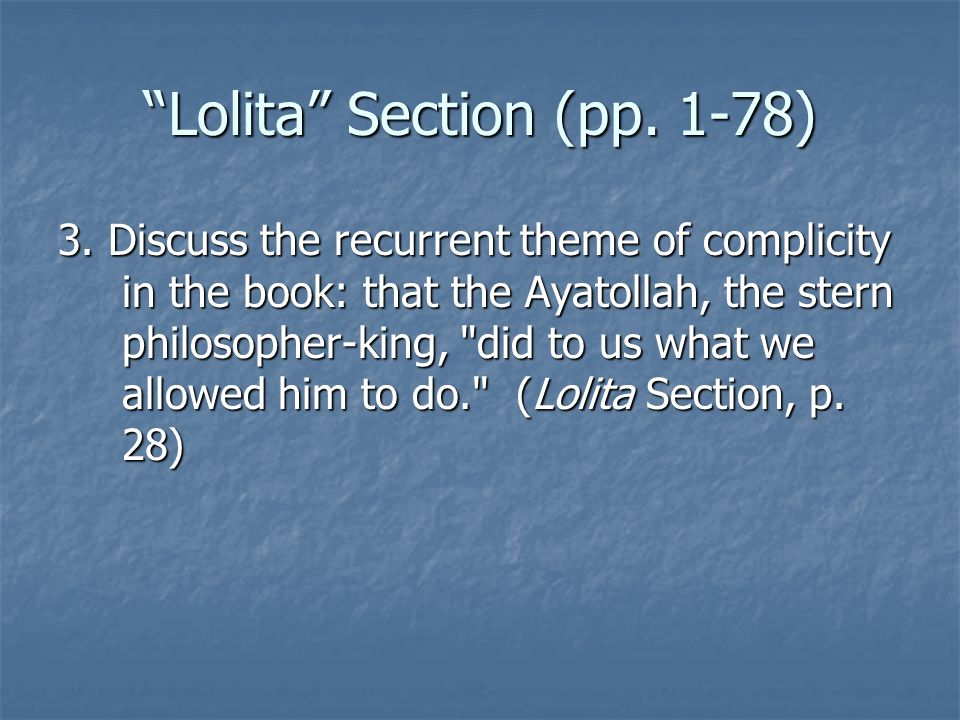 Lolita Section (pp. 1-78)