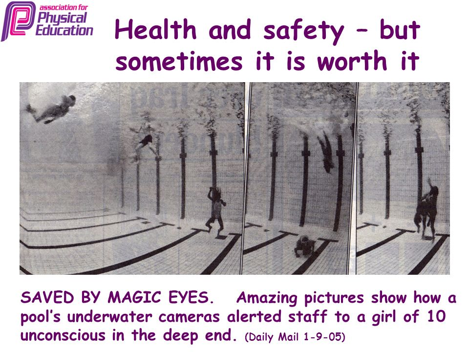 Health and safety – but sometimes it is worth it