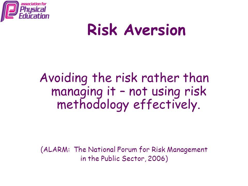 (ALARM: The National Forum for Risk Management