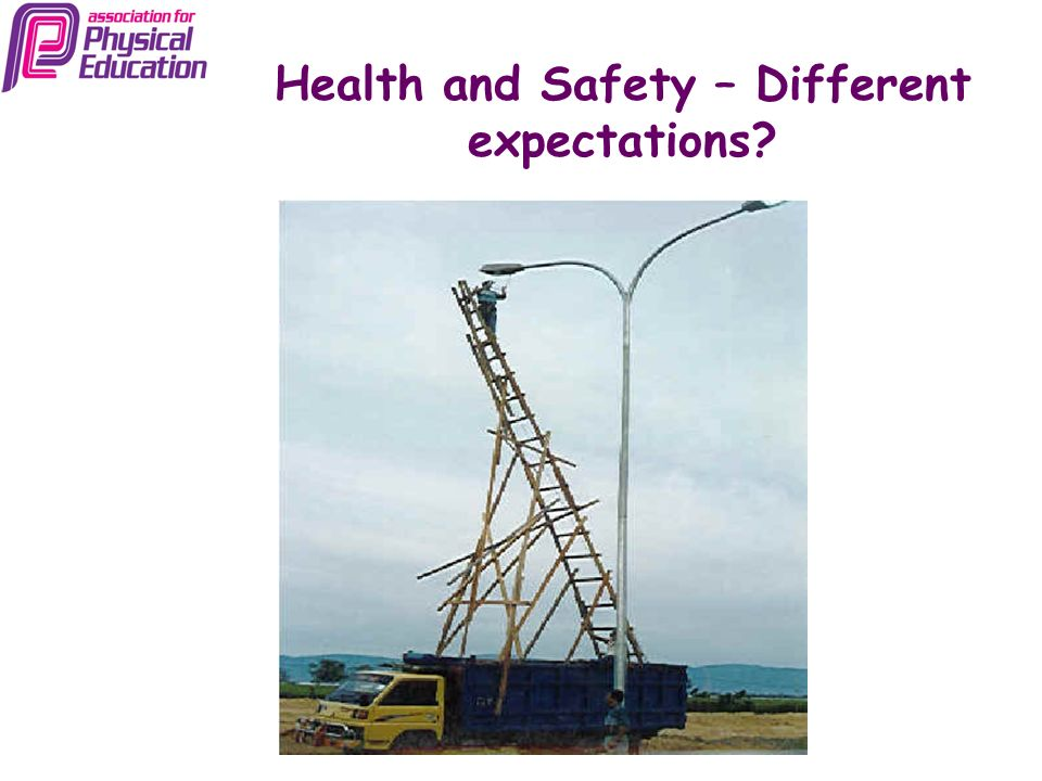 Health and Safety – Different expectations