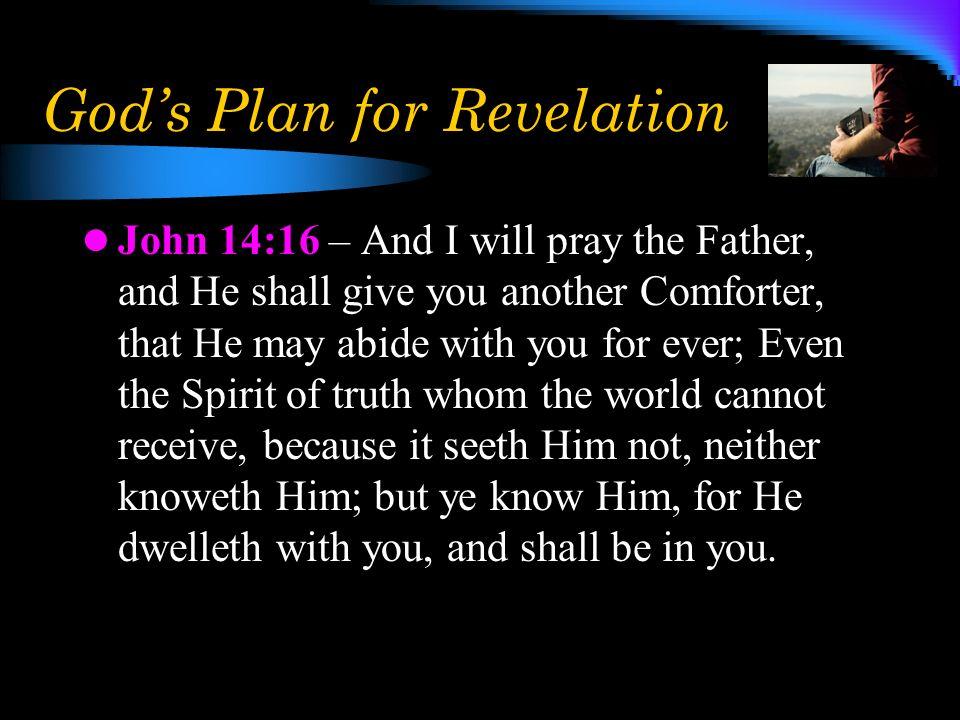 God's Plan for Revelation