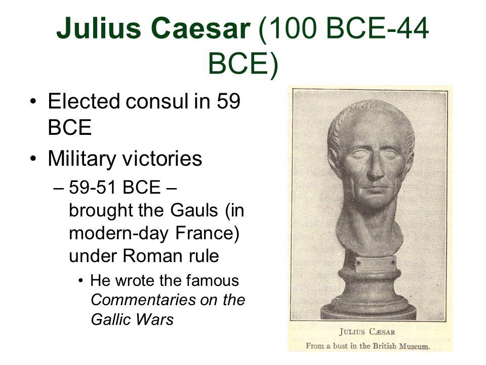 Julius Caesar (100 BCE-44 BCE)