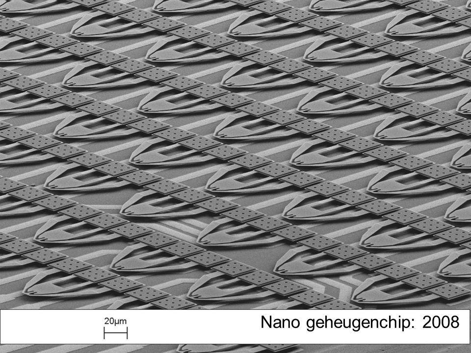 Nano geheugenchip: 2008