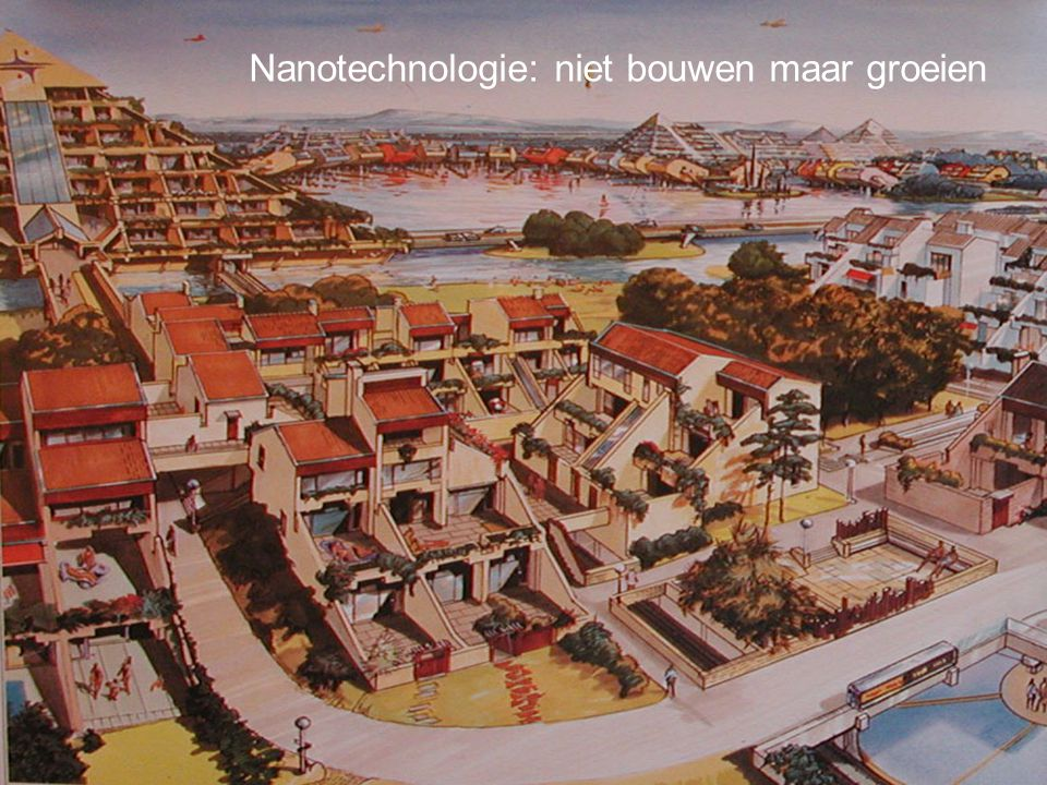 Nanotechnologie: niet bouwen maar groeien